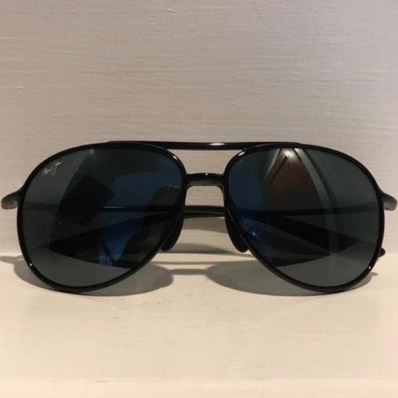 0e2b8aecfb2 Maui Jim Accessories | Alelele Bridge Aviator Sunglasses Black ...